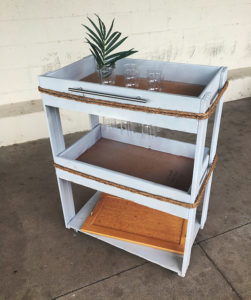Diy Bar Cart Stardust Building Supplies